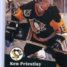 Ken Priestlay  1991/92 Pro Set #460 NHL Hockey Card Near Mint Condition