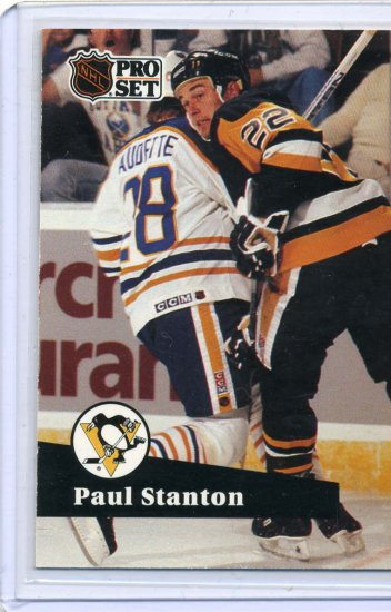 Paul Stanton 91/92 Pro Set #457 NHL Hockey Card Near Mint Condition