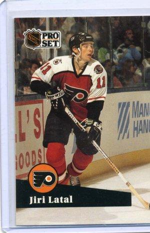 Jiri Latal 91/92 Pro Set #454 NHL Hockey Card Near Mint Condition