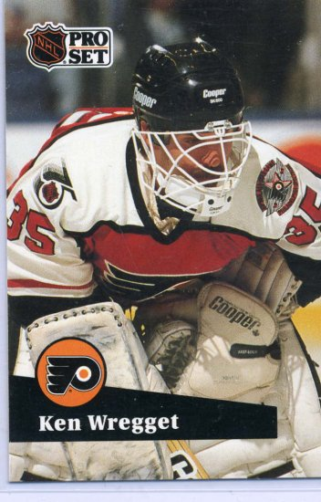 Ken Wregget 91/92 Pro Set #450 NHL Hockey Card Near Mint Condition