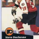 Steve Duchesne 91/92 Pro Set #448 NHL Hockey Card Near Mint Condition