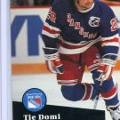 Tie Domi 1991/92 Pro Set #440 NHL Hockey Card Near Mint Condition