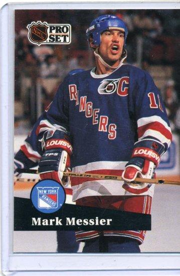 Mark Messier 1991/92 Pro Set #439 NHL Hockey Card Near Mint Condition