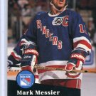 Mark Messier 1991/92 Pro Set #439 NHL Hockey Card Near Mint Condition
