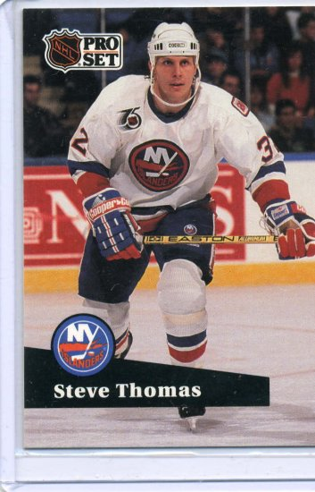 Steve Thomas 1991/92 Pro Set #438 NHL Hockey Card Near Mint Condition