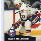 Dave McLlwain 1991/92 Pro Set #434 NHL Hockey Card Near Mint Condition