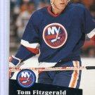 Tom Fitzgerald 1991/92 Pro Set #431 NHL Hockey Card Near Mint Condition