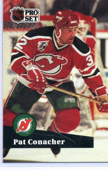 Pat Conacher 1991/92 Pro Set #427 NHL Hockey Card Near Mint Condition