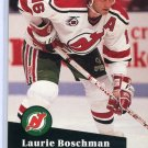 Laurie Boschman 1991/92 Pro Set #426 NHL Hockey Card Near Mint Condition