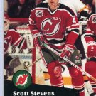 Scott Stevens 1991/92 Pro Set #423 NHL Hockey Card Near Mint Condition