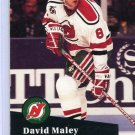 David Maley 91/92 Pro Set #421 NHL Hockey Card Near Mint Condition