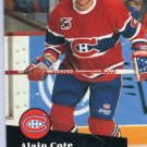 Rookie Alain Cote 91/92 Pro Set #417 NHL Hockey Card Near Mint Condition