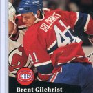 Brent Gilchrist 91/92 Pro Set #414 NHL Hockey Card Near Mint Condition