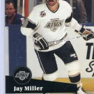 Jay Miller 91/92 Pro Set #402 NHL Hockey Card Near Mint Condition