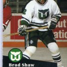 Brad Shaw 1991/92 Pro Set #87 NHL Hockey Card Near Mint Condition