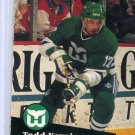 Todd Krygier 1991/92 Pro Set #83 NHL Hockey Card Near Mint Condition