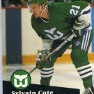 Sylvain Cote 1991/92 Pro Set #82 NHL Hockey Card Near Mint Condition