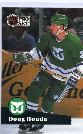 Doug Houda 1991/92 Pro Set #81 NHL Hockey Card Near Mint Condition