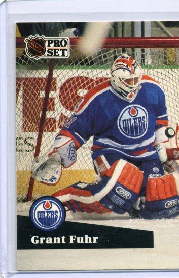 Grant Fuhr 1991/92 Pro Set #78 NHL Hockey Card Near Mint Condition