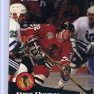 Steve Thomas 1991/92 Pro Set #45 NHL Hockey Card Near Mint Condition