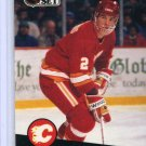Al MacInnis 1991/92 Pro Set #33 NHL Hockey Card Near Mint Condition