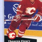 Theoren Fluery 1991/92 Pro Set #28 NHL Hockey Card Near Mint Condition