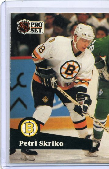 Petri Skriko 1991/92 Pro Set #8 NHL Hockey Card Near Mint Condition