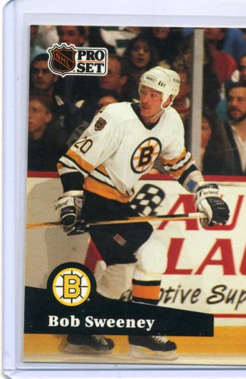Bob Sweeney 1991/92 Pro Set #6 NHL Hockey Card Near Mint Conditi