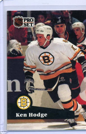 Ken Hodge 1991/92 Pro Set #3 NHL Hockey Card Near Mint Condition