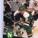 Mike Modano 1991/92 Pro Set #105 NHL Hockey Card Near Mint Condition