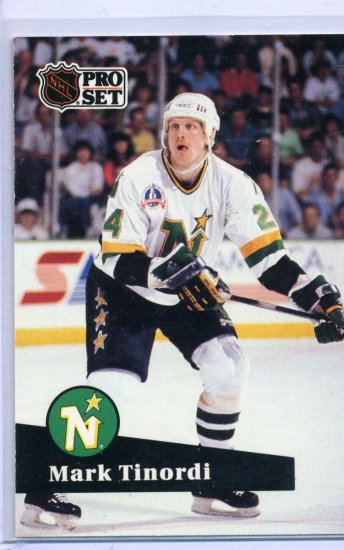 Mark Tinordi 1991/92 Pro Set #107 NHL Hockey Card Near Mint Condition