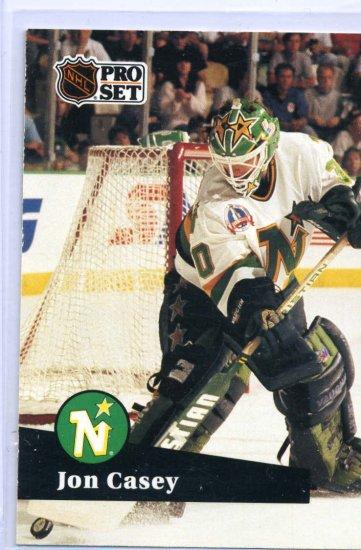 Jon Casey 1991/92 Pro Set #111 NHL Hockey CardNear Mint Condition