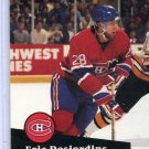 Eric Desjardins 1991/92 Pro Set #118  NHL Hockey Card Near Mint Condition