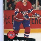 J J Daigneault 1991/92 Pro Set #124 NHL Hockey Card Near Mint Condition