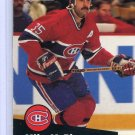 Mike McPhee 1991/92 Pro Set #129 NHL Hockey Card Near Mint Condition
