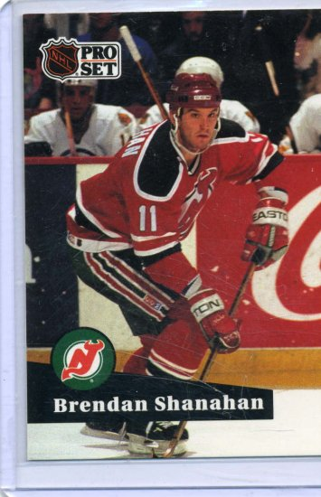 Brendan Shanahan 1991/92 Pro Set #131 NHL Hockey Card Near Mint Condition