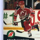 Claude Lemieux 1991/92 Pro Set #135 NHL Hockey Card Near Mint Condition