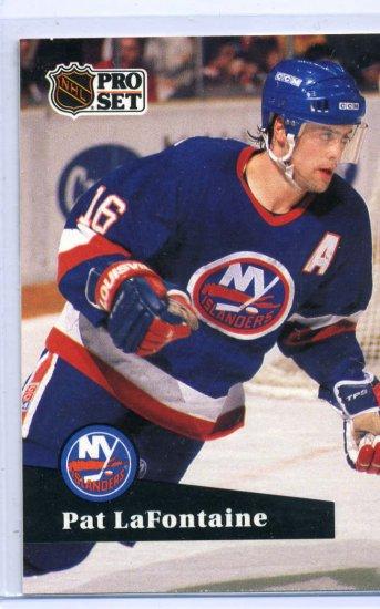 Pat LaFontaine 1991/92 Pro Set #149 NHL Hockey Card Near Mint Condition