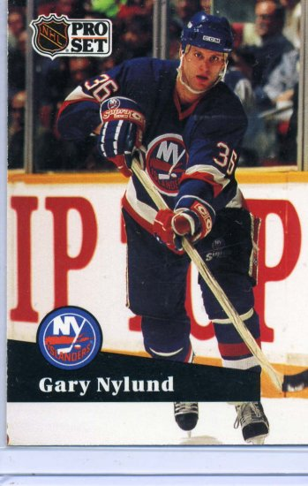 Gary Nylund 1991/92 Pro Set #150 NHL Hockey Card Near Mint Condition