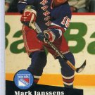 Mark Janssens 1991/92 Pro Set #158 NHL Hockey Card Near Mint Condition