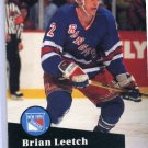 Brian Leetch 1991/92 Pro Set #159 NHL Hockey Card Near Mint Condition