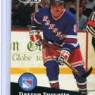 Darren Turcotte 1991/92 Pro Set #160 NHL Hockey Card Near Mint Condition