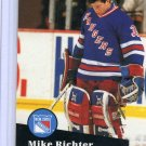 Mike Richter 1991/92 Pro Set #161 NHL Hockey Card Near Mint Condition