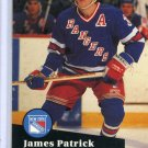 James Patrick 1991/92 Pro Set #164 NHL Hockey Card Near Mint Condition