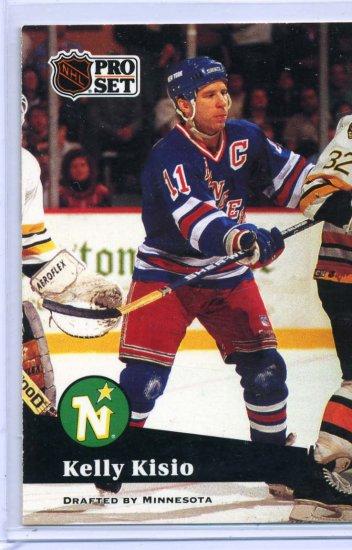 Kelly Kisio 1991/92 Pro Set #168 NHL Hockey Card Near Mint Condition