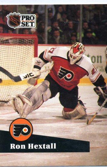 Ron Hextall 1991/92 Pro Set #176 NHL Hockey Card Near Mint Condition