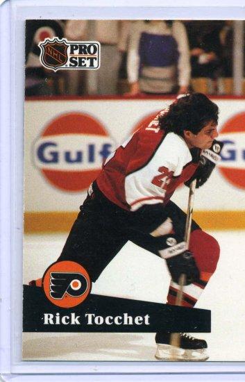 Rick Tocchet 1991/92 Pro Set #177 NHL Hockey Card Near Mint Condition