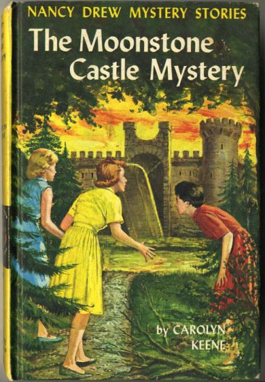 Nancy Drew #40 The Moonstone Castle Mystery by Carolyn Keene Hard Cover