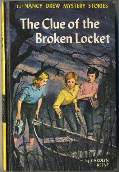 Nancy Drew #11 The Clue Of The Broken Locket by Carolyn Keene Hard Cover