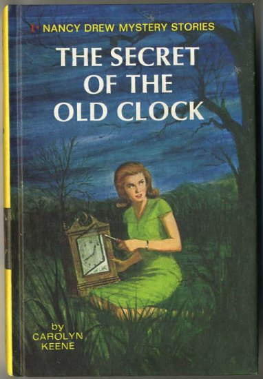 Nancy Drew #1 The Secret Of The Old Clock by Carolyn Keene Hard Cover